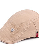 رخيصةأون قبعات الرجال-قبعة قلنسوة لون سادة رجالي أساسي
