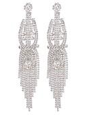 povoljno Smokinzi-Žene Viseće naušnice Sa stilom Long dame Moda Naušnice Jewelry Pink / Duga Za Dar Dnevno 1 par