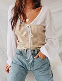 preiswerte Damen Jacken-Damen Solide - Grundlegend Bluse