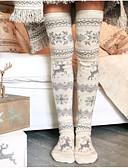 preiswerte Damen Nachtwäsche-Damen Knielange Socken - Stickerei Medium
