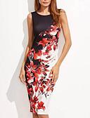 cheap Women's Dresses-Women's Going out Bodycon Dress Red XXXL XXXXL XXXXXL