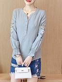 ieftine Tricou-Pentru femei Tricou De Bază - Floral