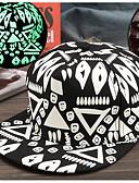 billige Hatter til herrer-Herre Baseballcaps Trykt mønster Polyester