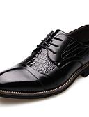 halpa Miesten takit-Miesten Muodolliset kengät Synteettinen Kevät / Syksy Klassinen / Vapaa-aika Oxford-kengät Non-liukastumisen Musta / Ruskea
