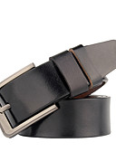 cheap Men's Belt-Men's Basic Wide Belt - Solid Colored