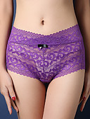 cheap Men's Exotic Underwear-Women's Seamless Panties Solid Colored Mid Waist