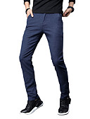cheap Men's Pants & Shorts-Men's Basic / Street chic Chinos Pants - Solid Colored