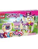 tanie Romantyczna koronka-Klocki do łączenia Zabawka na koncentrację Zabawny 734 pcs Sztuk Dla dzieci Doroślu Wszystko Zabawki Prezent
