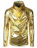 billige Tights-T-skjorte Herre - Ensfarget, Lapper Gatemote / Punk & Gotisk