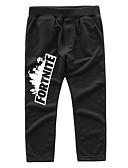 levne Chlapecké kalhoty-Děti Chlapecké Základní / Šik ven Geometrický Bavlna / Polyester Kalhoty Černá