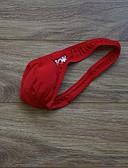 abordables Ropa interior para hombre exótica-Hombre G-string Underwear Un Color Baja cintura
