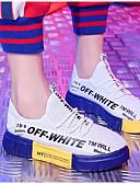 hesapli Bikiniler ve Mayolar-Kadın's Ayakkabı Örümcek Ağı İlkbahar & Kış Atletik Ayakkabılar Koşu Düz Taban Günlük / Dış mekan için Beyaz / Siyah / Kırmızı / Siyah / Sarı