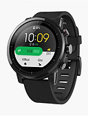 """halpa Morsiusneitojen mekot-xiaomi huami amazfit 2 smartwatch gps sykemittari 512mb / 4gb vedenpitävä 1,34 """"2,5d näytön urheilu katsella maailmanlaajuista versiota"""