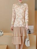 tanie Sukienki-Damskie Podstawowy Bawełna Spodnie Khaki