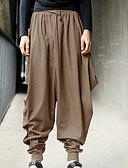 お買い得  メンズフーディー&スウェットシャツ-男性用 ストリートファッション / 誇張された プラスサイズ 日常 ルーズ スウェットパンツ / カーゴパンツ パンツ - ソリッド ブラック アーミーグリーン カーキ色 XXXL XXXXL XXXXXL