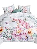 economico Corsetti e bustini-set copripiumino unicorno stampa reattiva polyster set di biancheria da letto 3 pezzi queen / king