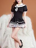 preiswerte Damen Socken & Strumpfwaren-Damen Uniformen & Cheongsams Nachtwäsche - Mehrschichtig Einfarbig