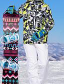 povoljno Maske za mobitele-MARSNOW® Muškarci Skijaška jakna i hlače Vodootporno Vjetronepropusnost Toplo Camping & planinarenje Zimski sportovi Terilen Kompleti odjeće Skijaška odjeća / Zima