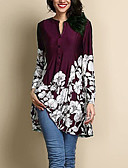 cheap Girls' Clothing Sets-Women's Plus Size Blouse - Floral