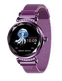 זול להקות Smartwatch-BoZhuo H2C נשים Smart צמיד Android iOS Blootooth ספורטיבי עמיד במים מוניטור קצב לב מודד לחץ דם כלוריות שנשרפו מד צעדים מזכיר שיחות מעקב שינה תזכורת בישיבה מצאו את המכשירשלי / Alarm Clock