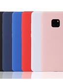 povoljno Maske za mobitele-Θήκη Za Huawei Huawei P20 / Huawei P20 Pro / Huawei P20 lite Mutno Stražnja maska Jednobojni Mekano TPU