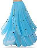 זול שמלות קוקטייל-ריקוד בטן חלקים תחתונים בגדי ריקוד נשים הדרכה / הצגה פוליאסטר Paillette טבעי חצאיות