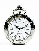 Недорогие Карманные часы-Муж. Карманные часы Кварцевый Серебристый металл Повседневные часы Cool Аналоговый На каждый день Мода - Серебряный