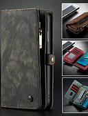 halpa Puhelimen kuoret-Etui Käyttötarkoitus Huawei Huawei P20 / Huawei P20 Pro / Huawei P20 lite Lomapkko / Korttikotelo / Tuella Suojakuori Yhtenäinen Kova PU-nahka