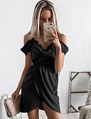 cheap Men's Swimwear-Women's Daily Basic Asymmetrical Sheath Wrap Dress - Solid Colored Lace High Waist Strap Black Pink Gray M L XL / Sexy