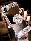 halpa iPhone kotelot-Etui Käyttötarkoitus Apple iPhone XS / iPhone XR / iPhone XS Max Iskunkestävä / Tuella Takakuori Tekojalokivi Kova Akryyli
