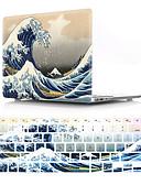 זול להקות Smartwatch-גלים עבור MacBook Pro הרשתית 11/12/13/15 אינץ 'לכסות פגז 2018 2017 2016 a1989 a1989 a1706 a1708 מקרה pvc ומקרה המקלדת לנו גירסה אנגלית