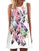 זול שמלות נשים-כתפיה מיני שמלה ישרה בגדי ריקוד נשים