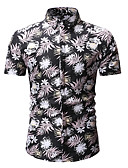 economico Camicie da uomo-Camicia Per uomo Con stampe, Fantasia geometrica