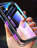hesapli iPhone Kılıfları-Pouzdro Uyumluluk Apple iPhone XS / iPhone XR / iPhone XS Max Şoka Dayanıklı / Şeffaf / Manyetik Tam Kaplama Kılıf Solid Sert Metal