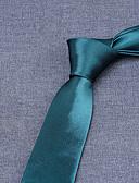 お買い得  メンズブレザー&スーツ-男性用 オフィス ストライプ ネクタイ
