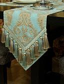 hesapli Kadın Kapşonluları-Çağdaş Dokunmamış Dörtgen Masa Runner'ları Desenli Masa Süslemeleri