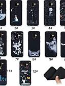 זול מגנים לטלפון-מגן עבור Samsung Galaxy A5(2018) / A6 (2018) / A6+ (2018) אולטרה דק / תבנית כיסוי אחורי חיה / אנימציה רך TPU