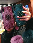 povoljno Drugi slučaj-Θήκη Za Apple Huawei Nova 3i / Huawei P20 / Huawei P20 Pro Otporno na trešnju Stražnja maska Šljokice Mekano TPU