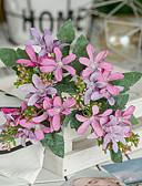 levne Svatební bolerka-Umělé květiny 1 Větev Jednolůžko rustikální design Evropský Rostliny Květina na stůl