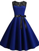 رخيصةأون فساتين فينتيدج قديمة-فستان نسائي ثوب ضيق أساسي طول الركبة ألوان متناوبة
