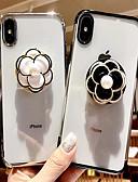 halpa iPhone kotelot-Etui Käyttötarkoitus Apple iPhone 8 Plus / iPhone 7 Plus Tuella / Ultraohut / Kuvio Takakuori Kukka Pehmeä TPU