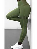 abordables Leggings para Mujer-Mujer Deportivo Legging - Un Color Alta cintura / Delgado