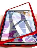 זול מגנים לטלפון-מגן עבור Huawei Huawei Mate 20 lite / Huawei Mate 20 pro / Huawei Mate 20 מגנטי כיסוי מלא אחיד קשיח זכוכית משוריינת