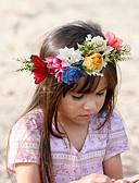 abordables Conjuntos de Ropa para Niña-Bebé Unisex Básico / Dulce Floral Estampado Acrílico Accesorios para el Cabello Blanco / Rosa / Arco Iris Tamaño Único