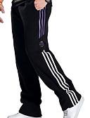 levne Pánské kalhoty a kraťasy-Pánské sportovní Větší velikosti Kalhoty chinos Kalhoty - Proužky Černá Světle šedá XXXL XXXXL XXXXXL