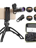 halpa Objektiivit ja tarvikkeet-Matkapuhelin Lens Suodatin-objektiivi / Kalansilmäobjektiivi / Pitkäpolttovälinen objektiivi lasi / Alumiiniseos 10X ja enemmän 32 mm 3 m 9 ° Jalustalla