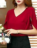 cheap Women-Women's T-shirt - Floral / Geometric Black XL