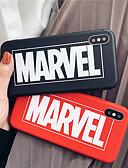 זול מגנים לאייפון-מגן עבור Apple iPhone XS / iPhone XR / iPhone XS Max מזוגג כיסוי אחורי מילה / ביטוי רך TPU
