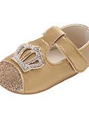 povoljno Maske za mobitele-Djevojčice Udobne cipele / Cipele za bebe PU Ravne cipele Dijete (9m-4ys) Sive boje / Crvena / Pink Proljeće