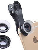 halpa Objektiivit ja tarvikkeet-Matkapuhelin Lens Makro-objektiivi lasi / ABS + PC 20X makro 25 mm 15 m 80 ° Sievä / Hauska